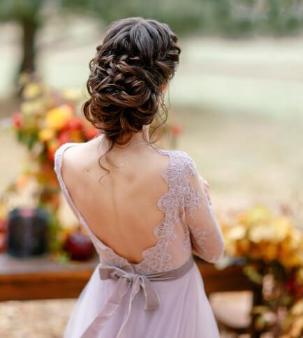 Dat warme sfeertje op een herfst bruiloft