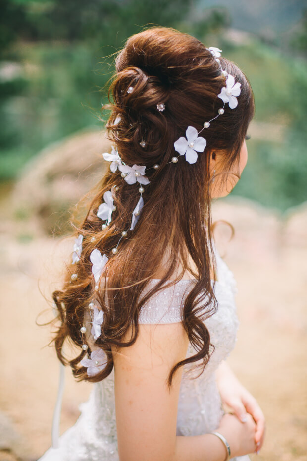 De nieuwste trends bruidskapsels