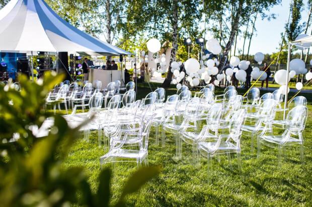 Partyverhuur helpt bij je bruiloft