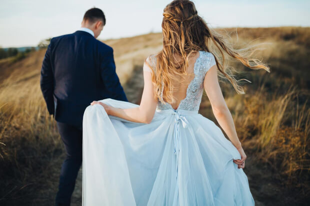 Buiten trouwen, een droom locatie