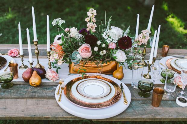 bruidsbeurs op trouwen