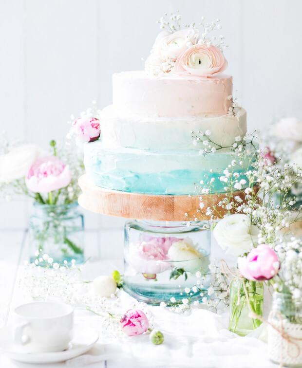 mint kleur bruiloft