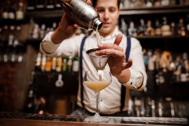 bruiloft met cocktails
