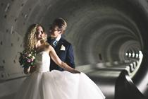 Ook een bruidsreportage in de Noord/Zuidlijntunnel?