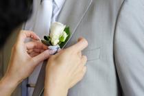 Accenten bij bruidspakken