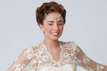 Prachtige bruidsjurken met fijne, kanten mouwen