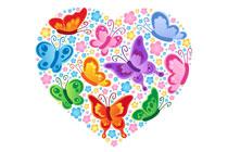 Trouwen met vlinders