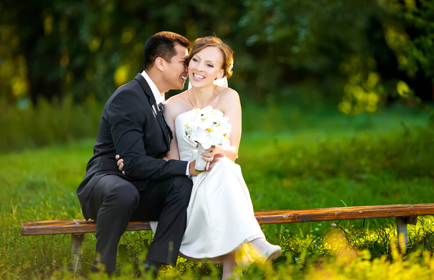 bruidspaar_plankje_natuur