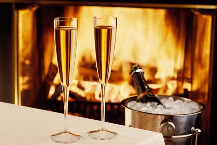 bruidssuite_champagne_openhaard