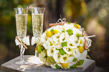 catering_champagne_groenboeket