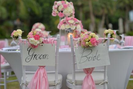 decoratie_roze_bruiloft